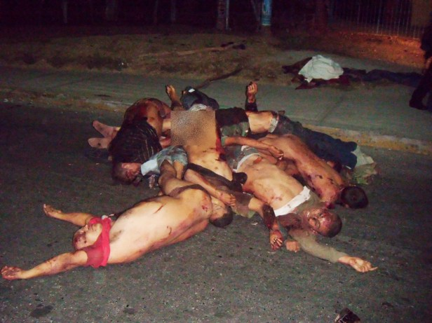 Mexican Narco Killings Execution Mexican Narco