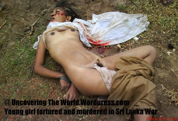 Young girl tortured and murdered in Sri Lanka War-ss