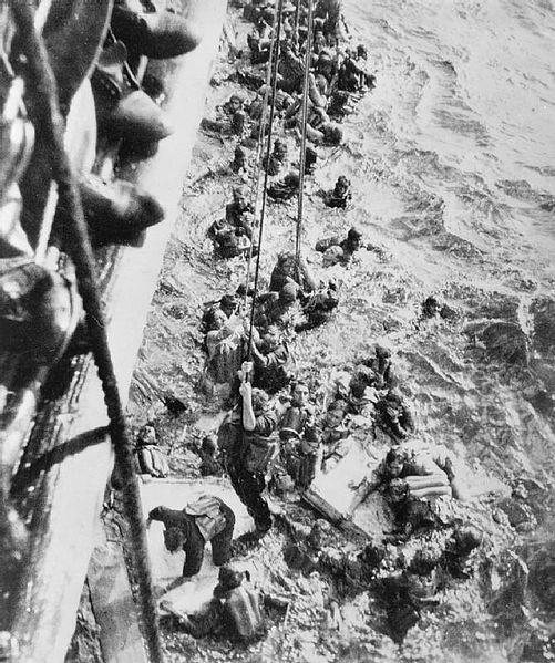 501px-HMS_Dorsetshire_Bismarck_survivors
