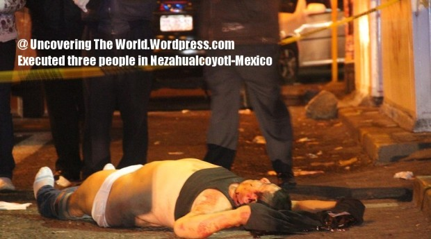Gang With Three Dots On Hand: Mexican Narco War/ Gang War