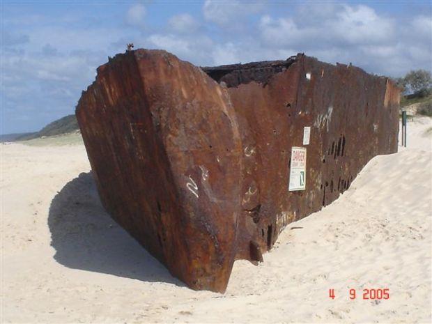 Cherry Venture Shipwreck