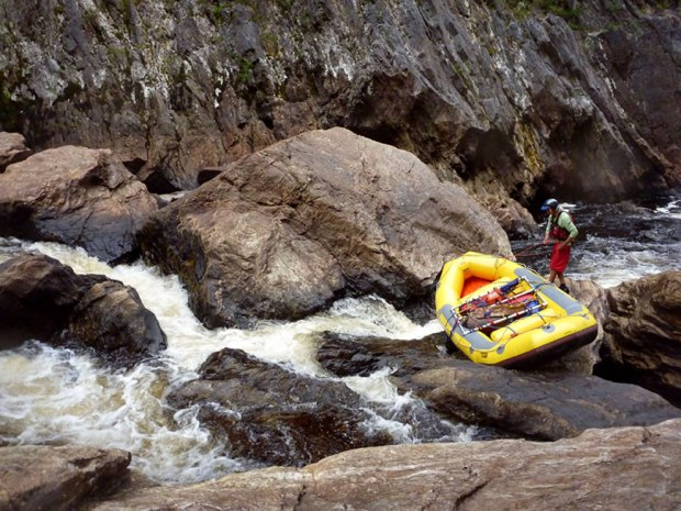 Day-5-of-rafting-and-negotiating-Franklin-River-Tasmanian-Wilderness