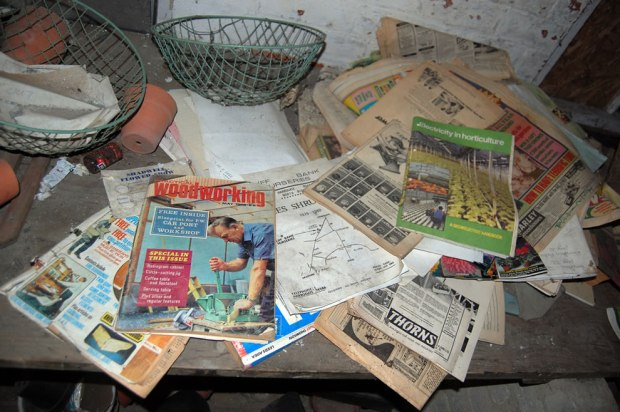 1960s-magazines-in-Derelict-Eastmoor-Reformatory-for-Boys