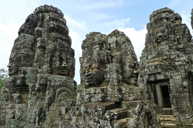 Bayon-A-temple-called-Bayonne-Angkor-Thom-the-Angkor-complex-Siem-Reap-Cambodia