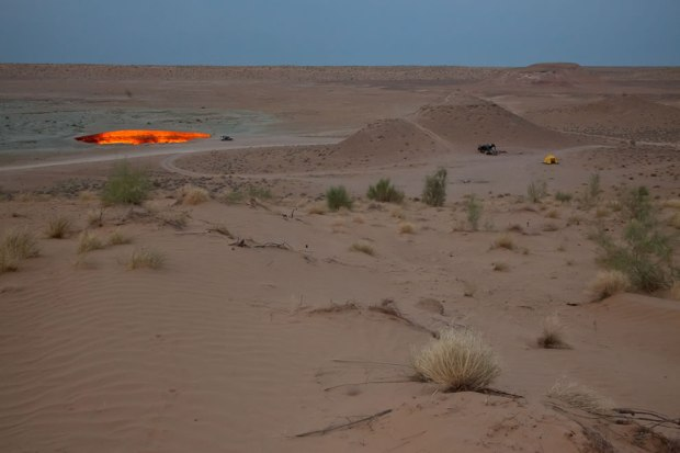 Camping-at-Darvaza-Turkmenistan