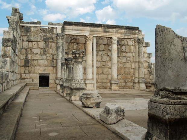 Capernaum-synagogue-mentioned-in-the-New-Testament-where-Jesus-taught