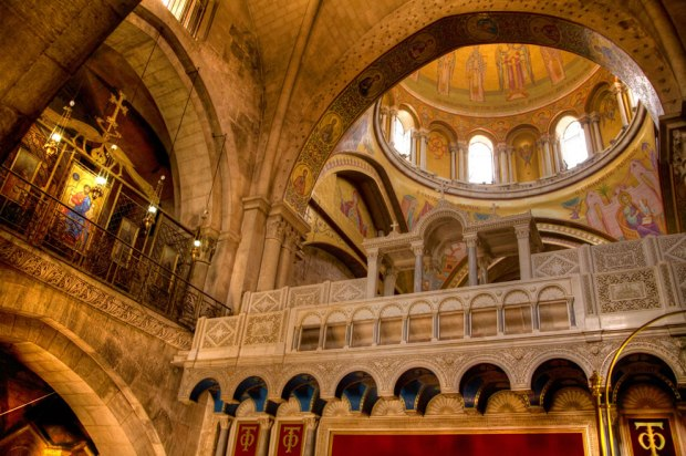 Dome-of-Church-of-the-Holy-Sepulchre-built-over-the-spot-where-Jesus-Christ-was-crucified