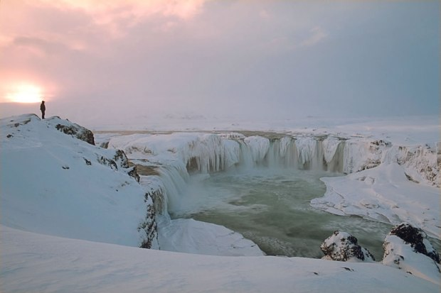 Gothafoss-in-Winter
