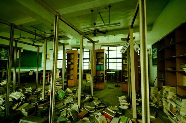 Inside-Taiwan-ruins-of-abandoned-Chianan-Home-Economics-Vocational-High-School