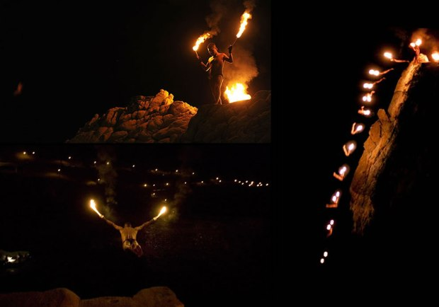 La-Quebrada-Cliff-Acapulco-night-diving-with-torches-in-hand