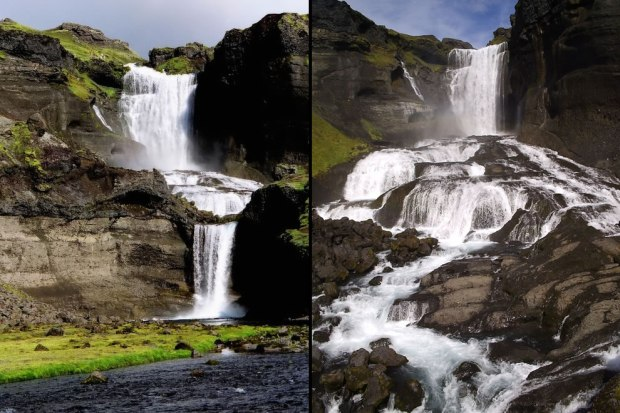 Ofaerufoss-cascading-waterfall-in-Iceland