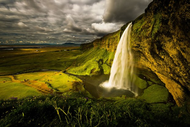 Seljalandsfoss-is-one-of-the-most-famous-waterfalls-in-Iceland