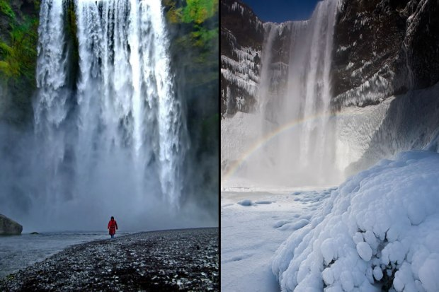 Skógafoss-Forest-Falls-this-plunge-waterfall-drops-197-ft-60-m-and-is-82-ft-25-m-wide