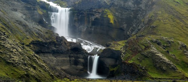 South-Iceland-waterfall-Ofaerufoss-used-to-be-d-above