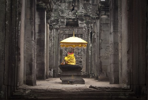 The-Origin-of-Suffering-is-Attachment-Bayon-Cambodia-Indochina