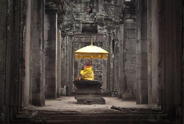 The-Origin-of-Suffering-is-Attachment-Bayon-Cambodia-Indochina