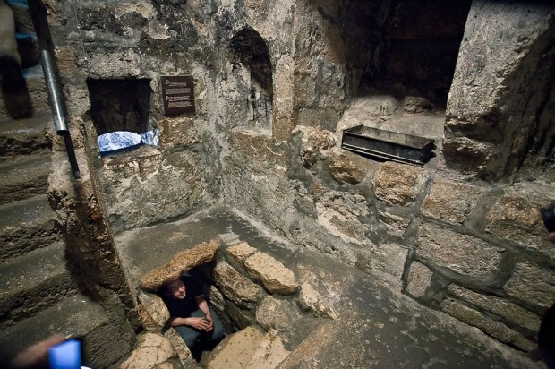 The-Tomb-of-Lazarus-at-Bethany
