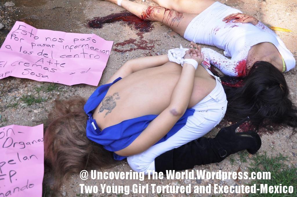 Mexican Cartel Execution Woman